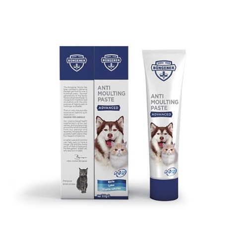anvanced anti moulting paste for dogs cats - Bungener Advanced Anti Moulting Paste For Dogs & Cats 100g