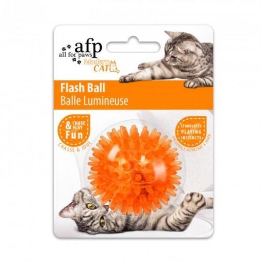 ap2087 2 - AFP Flash Ball Orange Cat Toy