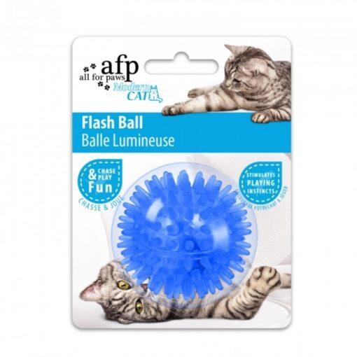 ap2087 5 - AFP Flash Ball Blue Cat Toy
