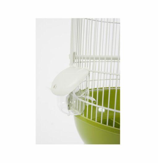 arabesque cage leonie olive 1 scaled - Zolux - Arabesque Cage Leonie Olive
