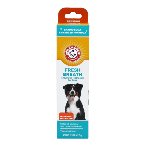 arm hammer fresh breath enzymatic toothpaste for dogs chicken flavor - Arm & Hammer Fresh Breath Enzymatic Toothpaste For Dogs Chicken Flavor