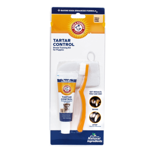 arm hammer tartar control dental training kit for puppies vanilla ginger flavor - Arm & Hammer Tartar Control Dental Training Kit For Puppies Vanilla Ginger Flavor