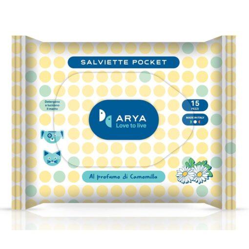 arya wet wipes chamomile pocket - Arya - Wet Wipes Chamomile Pocket