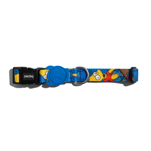 bart collar1 - Zee.Dog Bart Simpson Collar