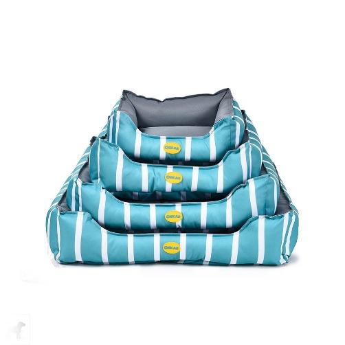 block - OSKAR Block Bed Turquoise