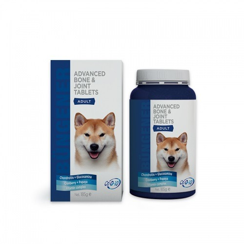 bungener advanced bone joint tablets for dogs - Bungener Advanced Bone & Joint Tablets For Dogs Adult 185g
