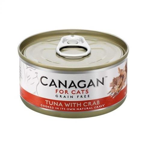canagan tuna crab cat wetfood - Canagan Tuna with Crab Cat Tin Wet Food