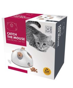 M Pets Catch The Mouse Electronic Cat Toy