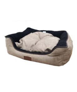 Catry Pet Cushion - brown and black