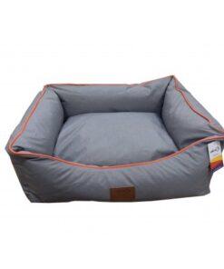 Catry Pet Cushion - grey-orange