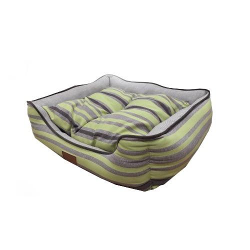 Catry Pet Cushion - Green Gray Black