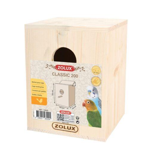 classic 200 bird nesting - Zolux - Bird Nesting Box - Classic 200