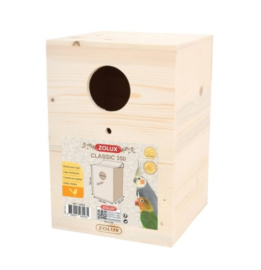 classic 350 bird nesting - Zolux - Bird Nesting Box - Classic 350