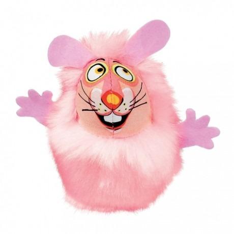 classic fluff bunnies p - Petmate Fat Cat Classic Fluff Bunnies Pink