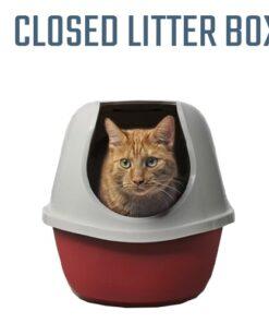 Closed Litter Box