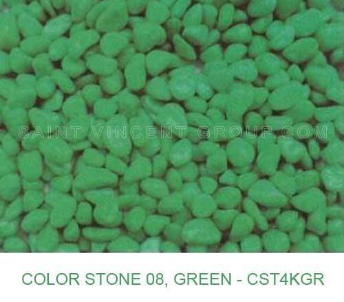 color stones green