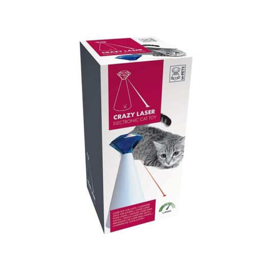 M-Pets Crazy Laser Electronic Cat Toy