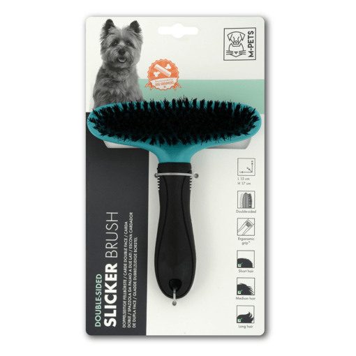 dsc 6396 - M-PETS Double Sided Slicker Brush