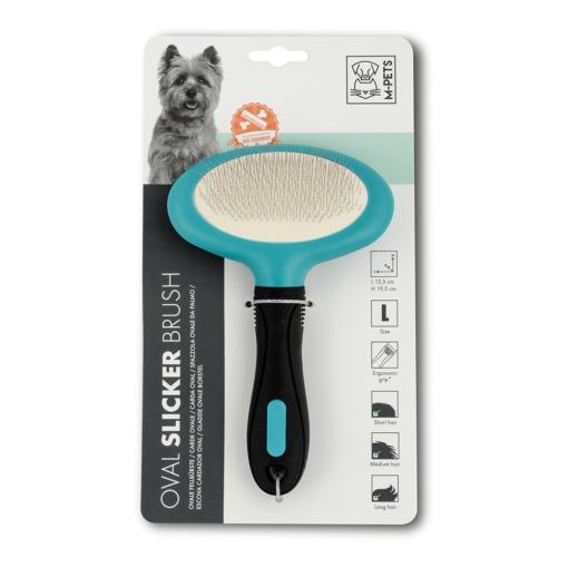 dsc 6398 - M-PETS Oval Slicker Brush L