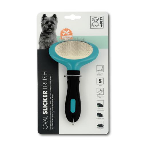 dsc 6400 - M-PETS Oval Slicker Brush S
