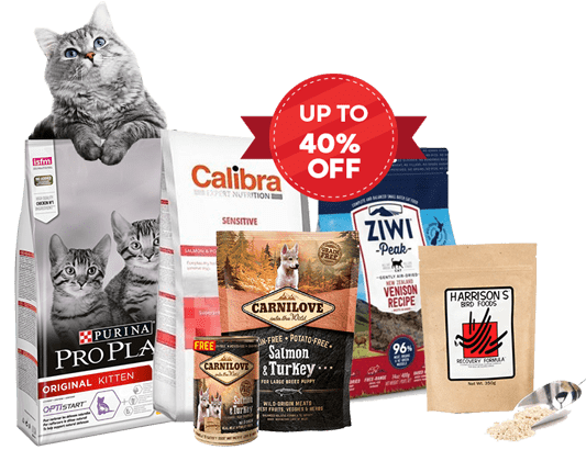 Expiring Pet Food Products Banner