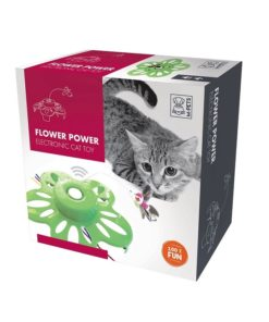 M Pets Flower Power Electronic Cat Toy