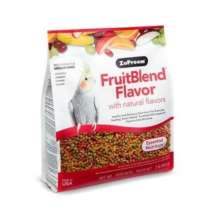 fruitblend medium - ZuPreem - Fruitblend Flavor For Medium Size Birds