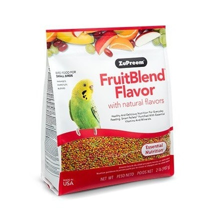 fruitblend smalll 1 - ZuPreem - Fruitblend Flavor For Small Birds