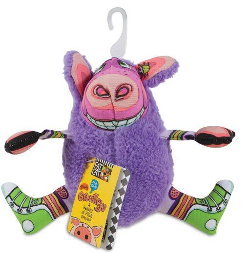 gruntleys mini purple - Petmate Fat Cat Gruntleys Mini Purple