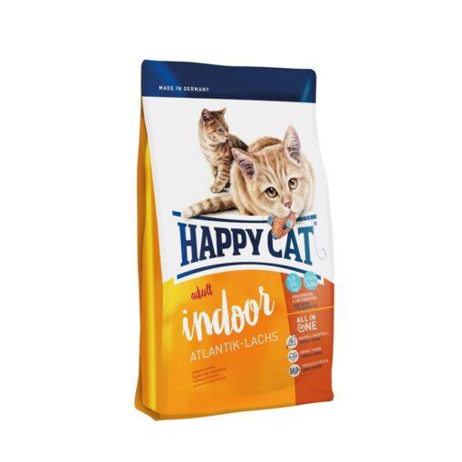 happy cat atlantic salmon - Happy Cat – Indoor Adult Atlantik-Laches (Atlantic Salmon) - 4 KG
