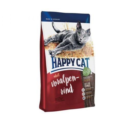 happy cat supreme adult cow alpes 1 4kg - Happy Cat - Voralpen Rind (Bavarian Beef)