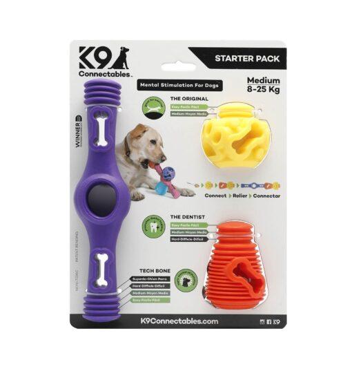 k9c m1 - K9 Connectables Starter Pack (Purple/Orange/Yellow)