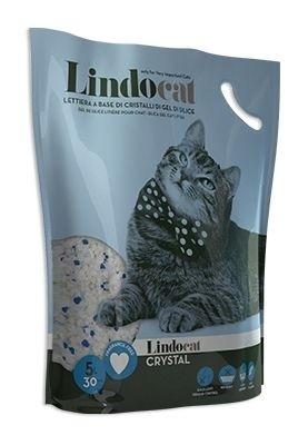lindocat crystal silica gel 5l2 - Lindo Cat Crystal (Silicagel) Cat Litter - 5 L