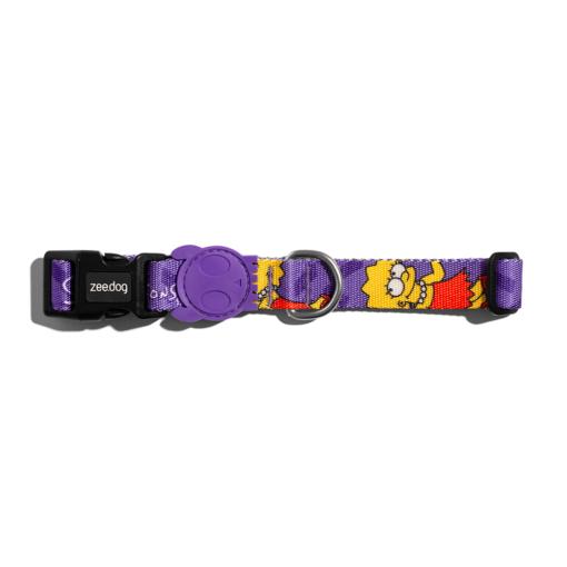 lisa collar1 - Zee.Dog Lisa Simpson Collar