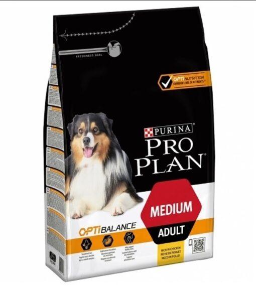 med adu - Pro Plan Optibalance - Chicken for Medium Adult Dog