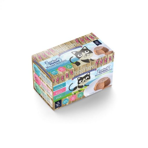 Little Big Paw Gourmet Seafood Selection 6x85g