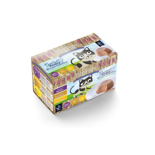 Little Big Paw Gourmet Poultry Selection 6x85g