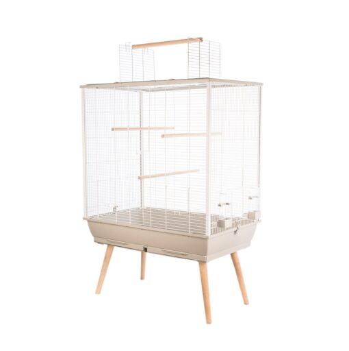 neo jili bird cage beige 80cm - Zolux - Neo Jili Bird Cage Beige