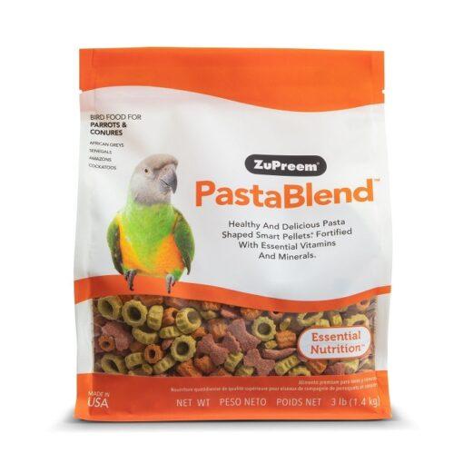 pastablend 3lb ml front bag 8946 - Pastablend Medium & Large Parrot Food