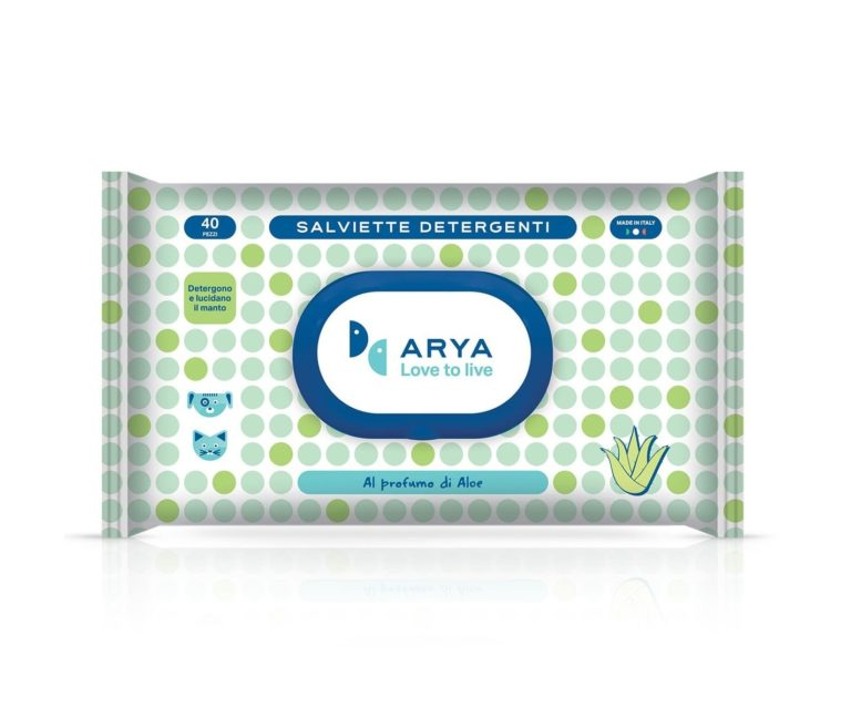 petpro arya wet wipes aloe - Arya - Wet Wipes Aloe