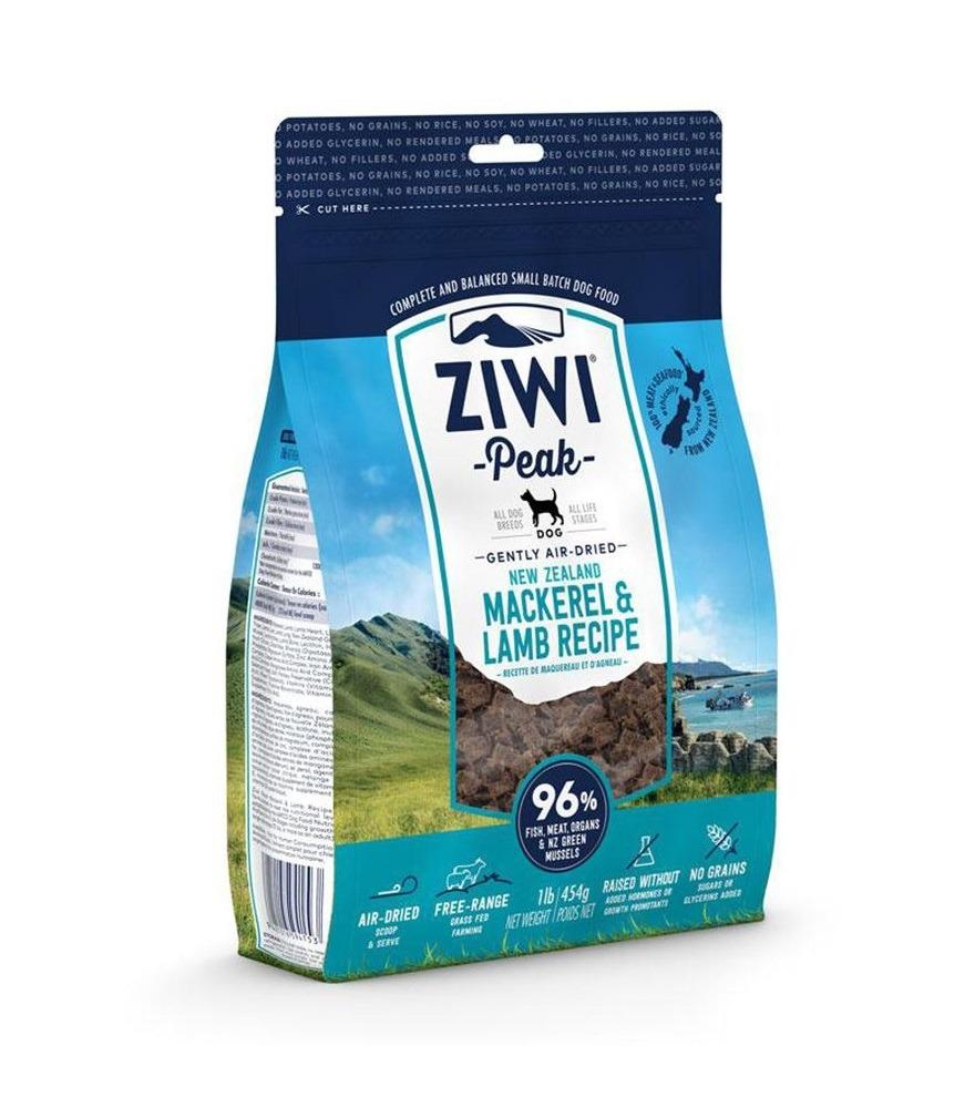 petpro ziwipeak air dried mackerel lamb dog food 2 5kg 1 - ZiwiPeak - Air Dried Mackerel & Lamb Dog Food (1Kg)