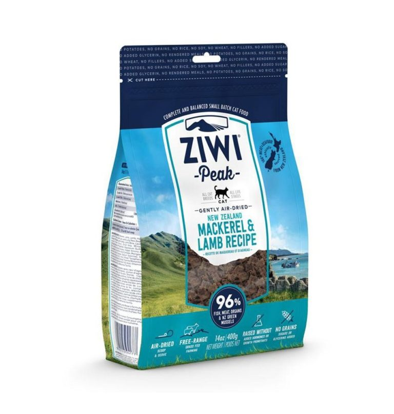 petpro ziwipeak cat mackerel lamb 1kg 1 - ZiwiPeak - Air Dried Mackerel & Lamb Recipe Cat Food