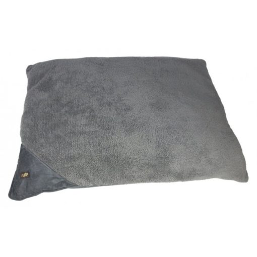 pillow bed grey l - AFP - Lambswool Pillow Dog Bed - Small/Grey - L 74 x W 58.5