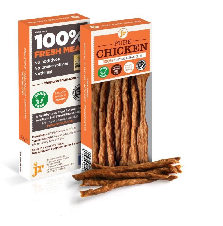 ps pure chicken - JR-Pure Chicken Sticks 50g