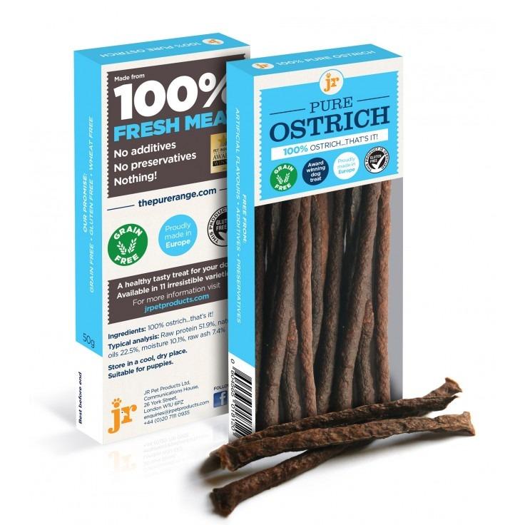 ps pure ostrich - JR-Pure Ostrich Sticks 50g
