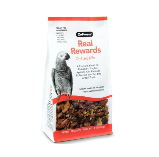 - ZuPreem - Real Reward Large Parrot Treats - Orchard Mix