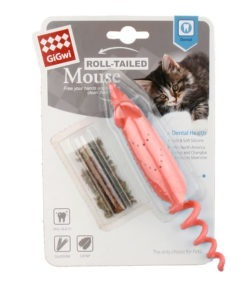 Roll Tailed Mouse Red