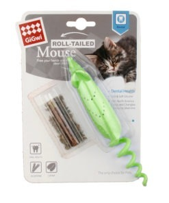 Roll Tailed Mouse Green