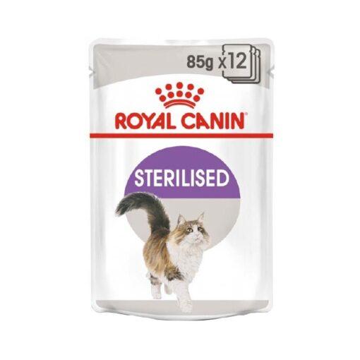 Riyal Canin Sterilised Cat Wet Food - Gravy