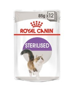 Riyal Canin Sterilised Cat Wet Food - Jelly
